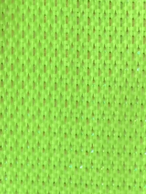 Lime Wired Metallic Ribbon - Starleene