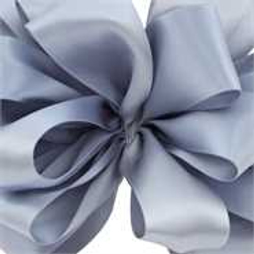 Dusty Blue Double Faced Satin Wholesale Ribbon