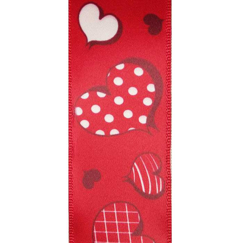 Valentine Plaid Wire Edge