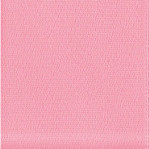 Offray Pink Single Faced Satin Ribbon.