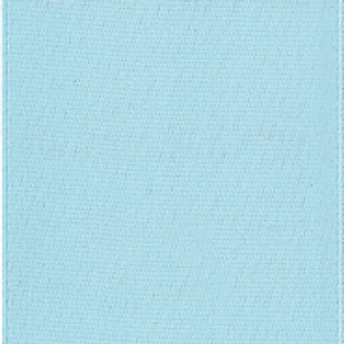 Light Blue Single Faced Satin Ribbon