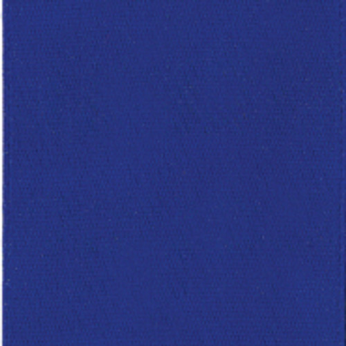 Cobalt Single Faced Satin Ribbon