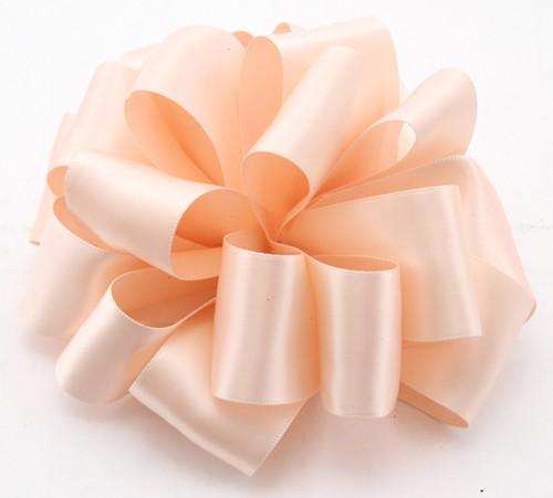 Pink Blush Double Faced Satin Ribbon