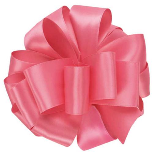 Hot Pink Double Faced Satin Ribbon