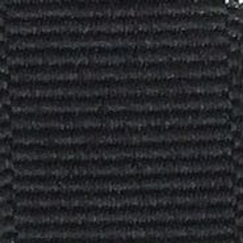 Black Solid Grosgrain Ribbon