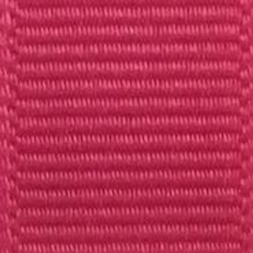 Shocking Pink Solid Grosgrain Ribbon