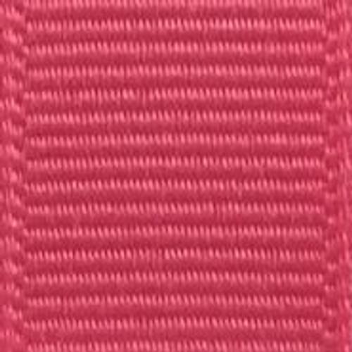 Bright Pink Solid Grosgrain Ribbon