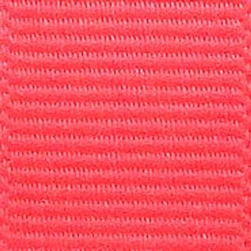 Neon Pink Solid Grosgrain Ribbon