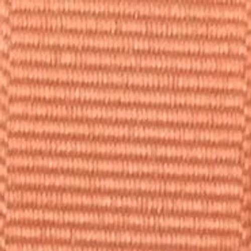 Apricot Solid Grosgrain Ribbon