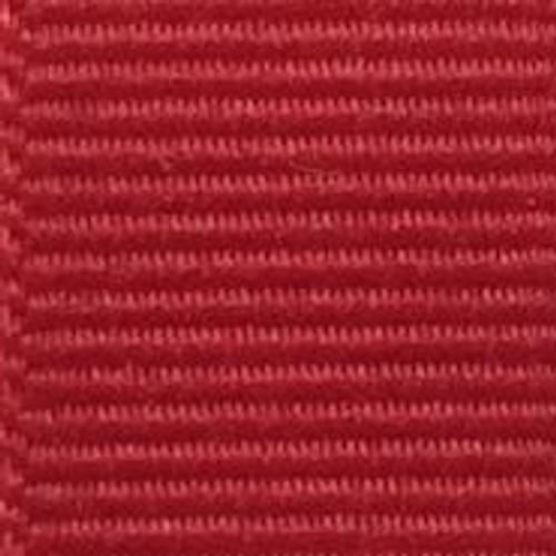 Red Solid Grosgrain Ribbon