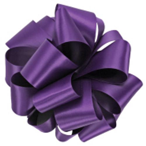 Regal Purple Double Faced Satin Ribbon