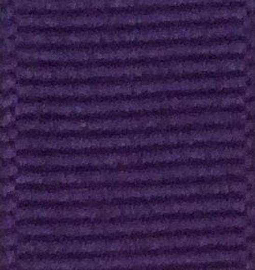 Violet Solid Grosgrain Ribbon