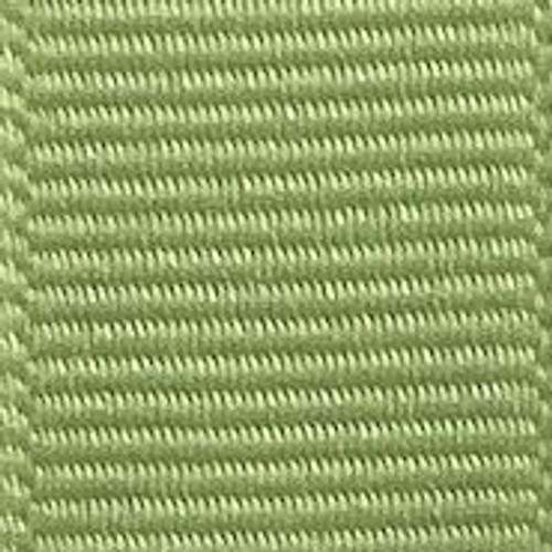 Lemongrass Solid Grosgrain Ribbon