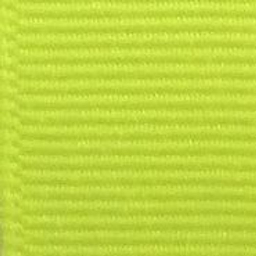 Neon Yellow Solid Grosgrain Ribbon