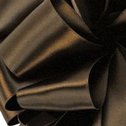 1/8 Brown Dainty Satin ribbon