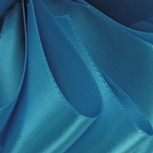 1/8 Turquoise Dainty Satin ribbon
