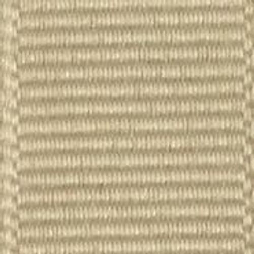 Natural Solid Grosgrain Ribbon