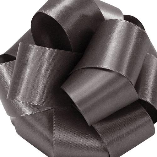 1/8 Pewter Dainty Satin ribbon