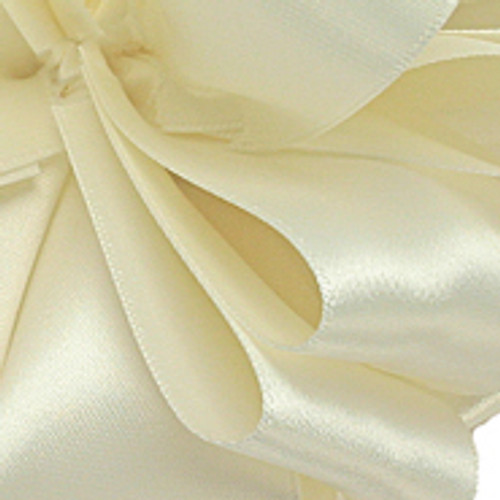 1/8 Antique White Dainty Satin ribbon