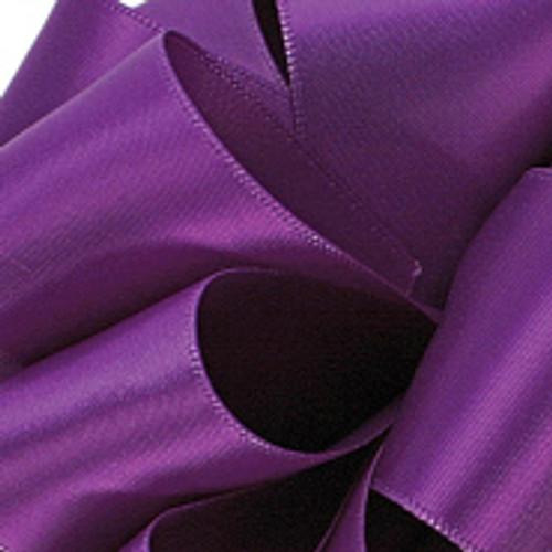 1/8 Purple Dainty Satin ribbon