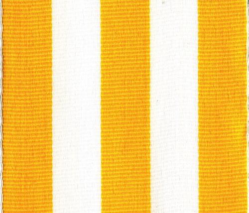 Yellow Carnival Striped Grosgrain