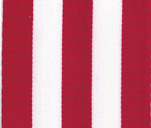 Wholesale Red Grosgrain Carnival Striped Ribbon by Offray.