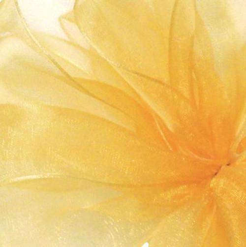 Gold Sheer Fabric