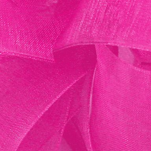 Pretty Pink Sheer Fabric.