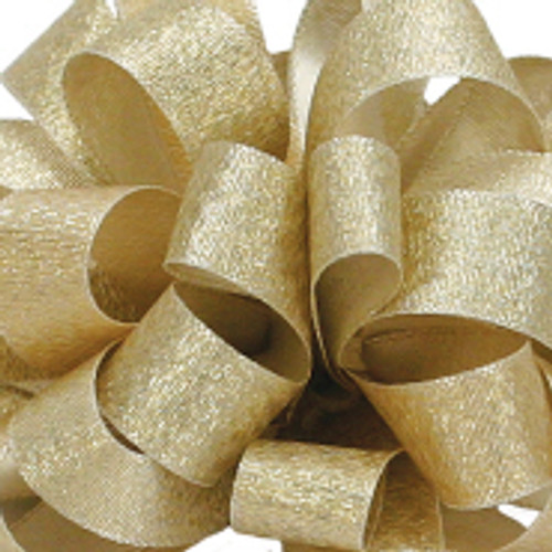 Luxe Gold Dust Satin Glitter Ribbon