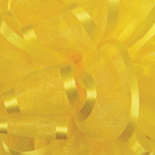 Yellow Pirouette Sheer / Satin Ribbon