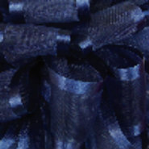 Navy Sheer with satin edge ribbon