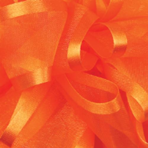 Torrid Orange Pirouette Sheer / Satin Ribbon