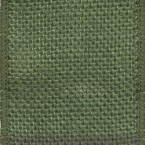 Moss Green Solid Burlap Ribbon