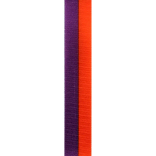Purple and Orange Vertical Striped Ribbon