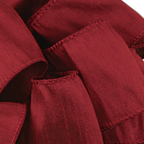 Anisha - Wine Wired Edge Ribbon