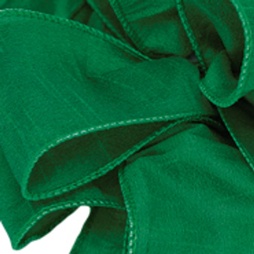 Anisha - Forest Green Wired Edge Ribbon