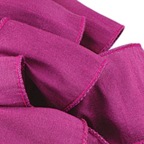 Anisha - Magenta Wired Edge Ribbon