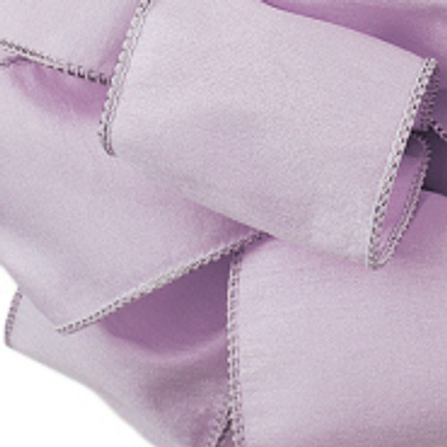Anisha - Lilac Wired Edge Ribbon