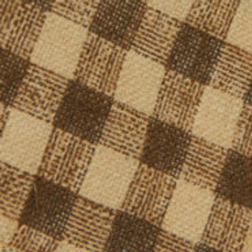 Brown Burcheck Ribbon