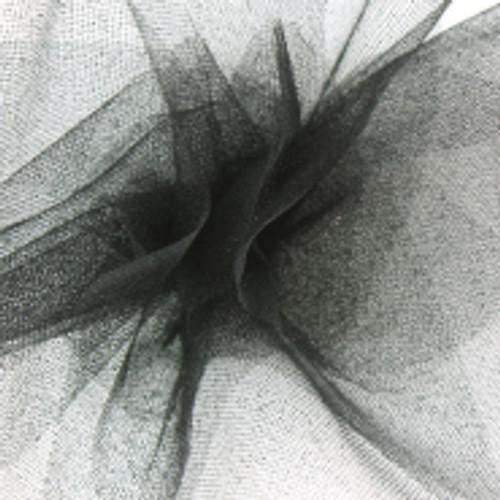Sparkle Tulle Fabric - Black