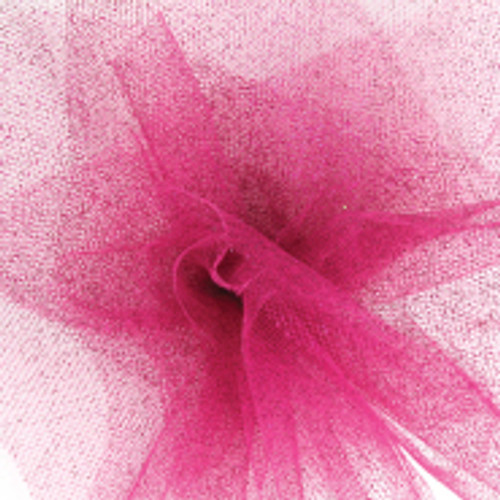 Sparkle Tulle Fabric - Hot Pink
