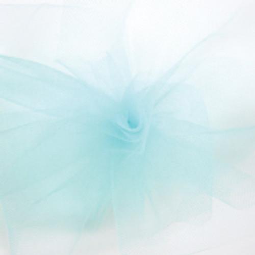 Solid Tulle Fabric - Aqua