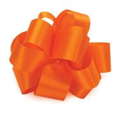 Orange Acetate Satin