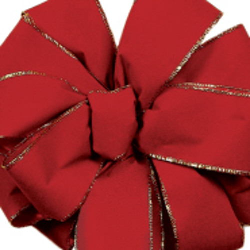 Berry Noble Wired Velvet Ribbon