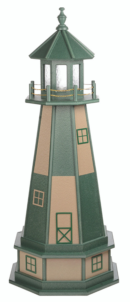 Amish Handcrafted Garden Lighthouses - Cape Henry Style