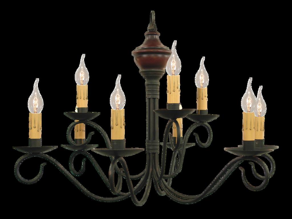 Katies handcrafted lighting washington wood 2 tier chandelier click here to enlarge aloadofball Image collections