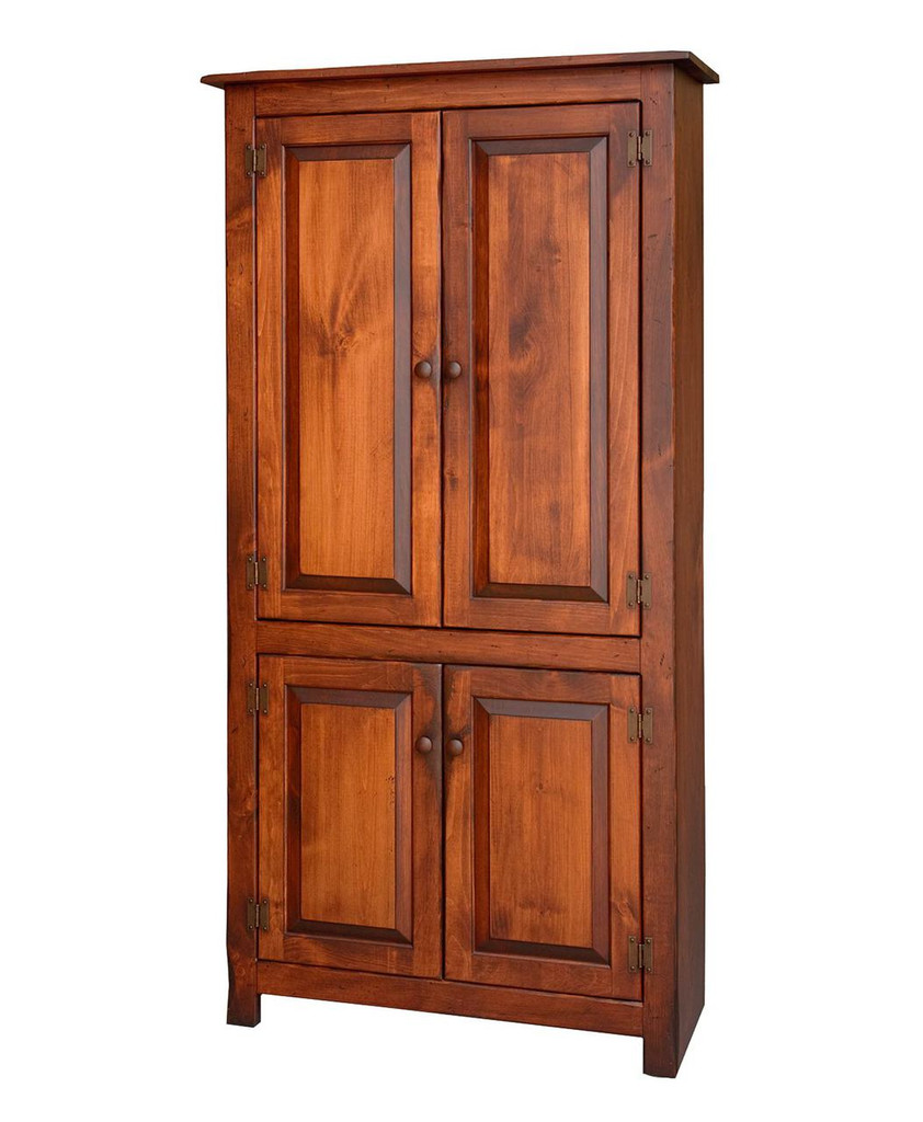 Charmant Amish Handcrafted 4 Door Pantry By Vintage Creations By Sam   Finished In  Antique Finish With