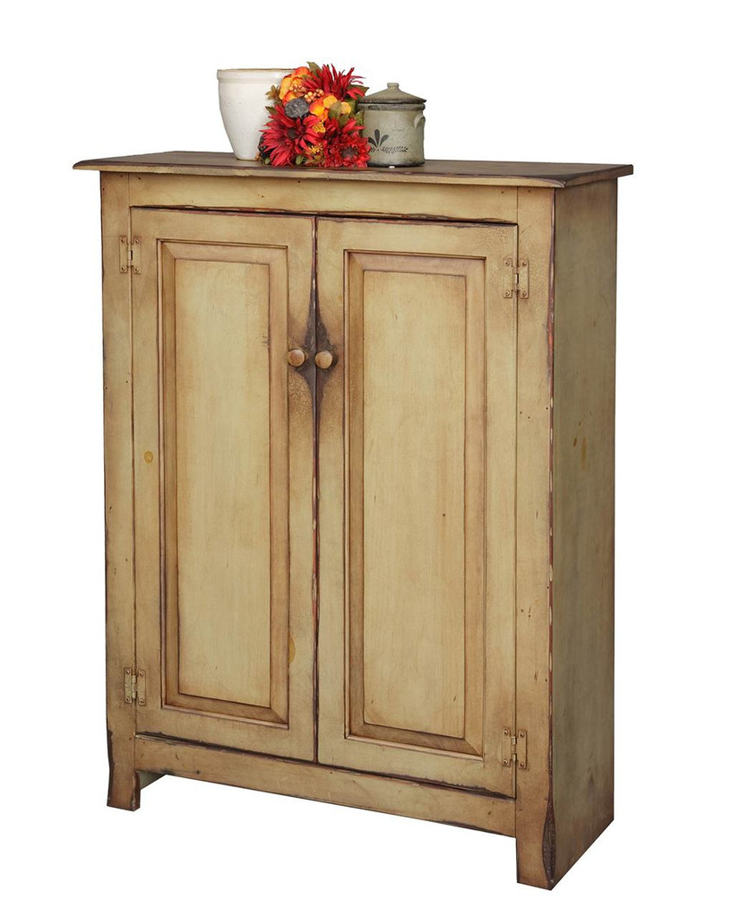Click here to enlarge - Amish Handcrafted - Small Jelly Cupboard - Vintage Creations By Sam