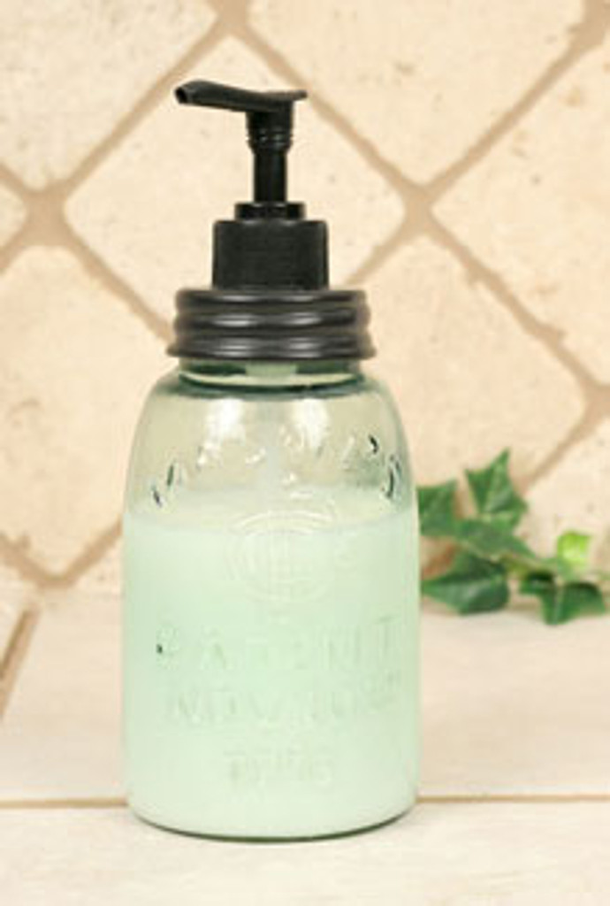 Midget Pint Mason Jar Soap Or Lotion Dispenser