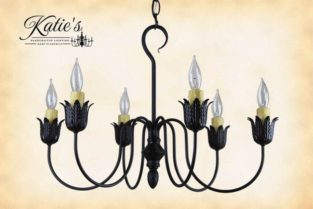 Primitive chandeliers farmhouse chandelier handcrafted in the usa click here to enlarge aloadofball Choice Image
